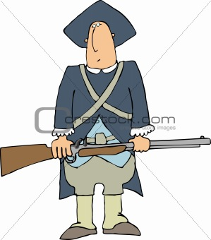 Cartoon+revolutionary+war+soldier