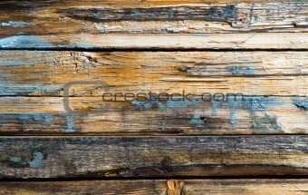 Weathered wooden plank