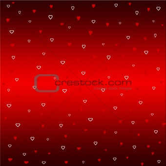 Red Christmas graphic