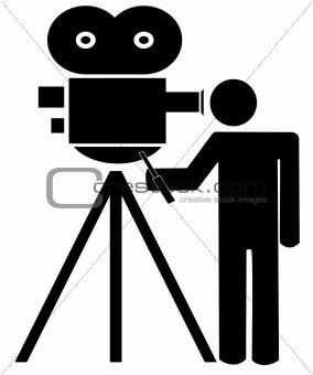 Movie Camera Tripod