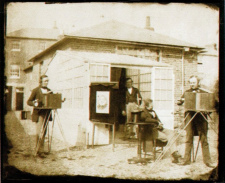 A calotype image by Fox Talbot, created in 1853