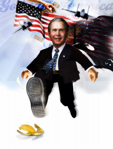 God save Mr. Bush