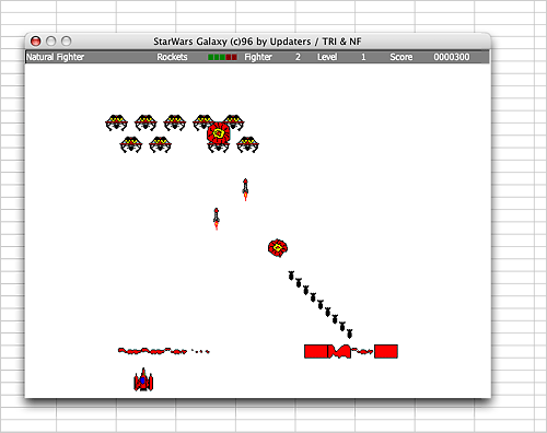 NeoOffice Calc StarWars game