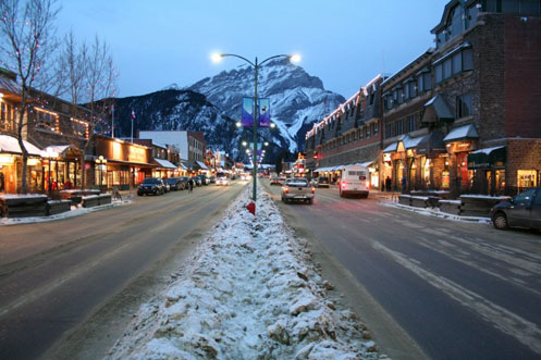 Banff Night Scene