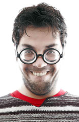 Geek Smile by Costas Rizos