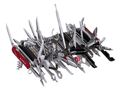 Wegner complete swiss army knife