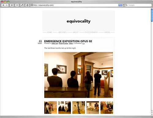 Equivocality Screenshot