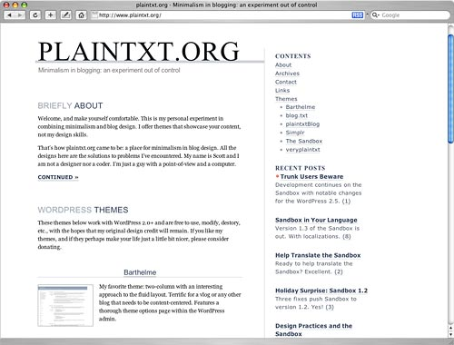 Plaintxt Screenshot