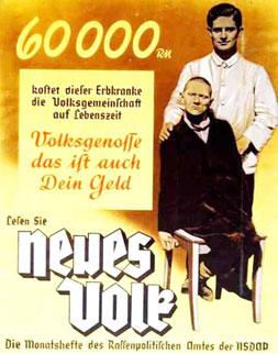 German retro propaganda poster