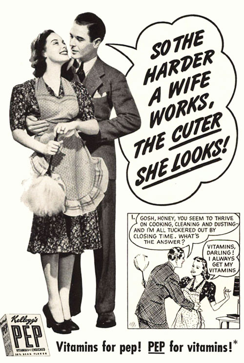 The harder a wife works