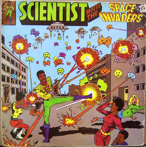 Scientist space invaders