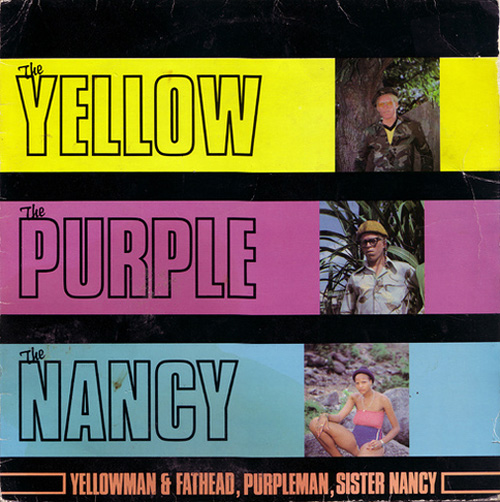 Yellow Purple Nancy