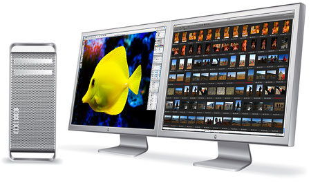Mac Pro with dual 30 inch Cinema Displays