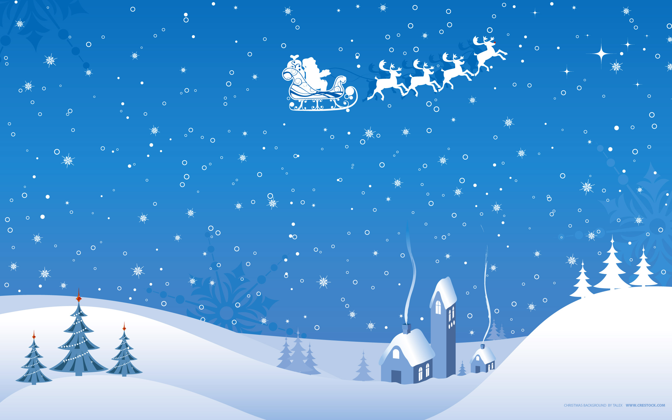 16 Stunning High Resolution Christmas Wallpapers Crestock